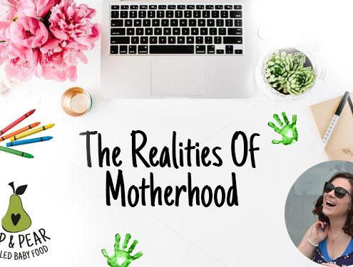 Realities of motherhood - two darlings