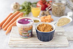 organic vegetarian vegan baby food 7 months weaning