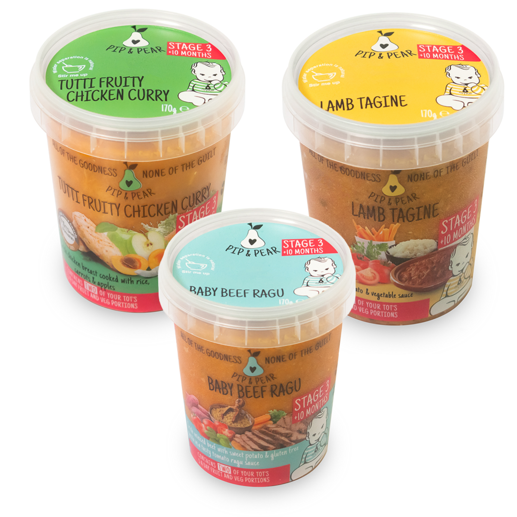 organic baby food 10 months pip and pear weaning