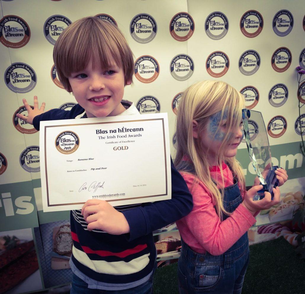 Pip and Pear win gold at Blas na hEireann