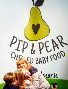 Pip and Pear Chilled Baby Food. Irene Queally
