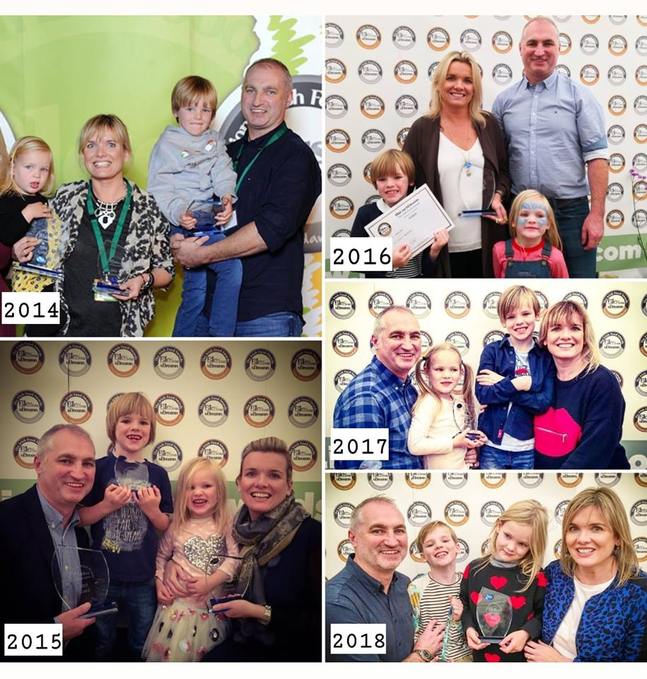 Pip and Pear wins at Blas na hEireann weaning pip and pear