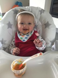 organic baby food pip and pear weaning